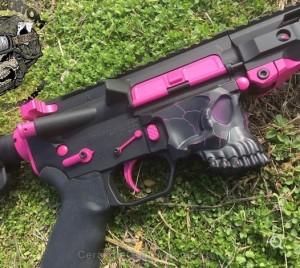 H-141 Graphite Black, H-141 Prison Pink and H-224 Sig Pink